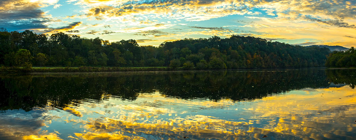 Reflections by the Holston River