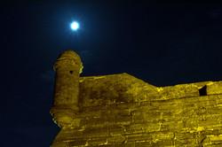 Moonrise Over Castillo de San Marcos