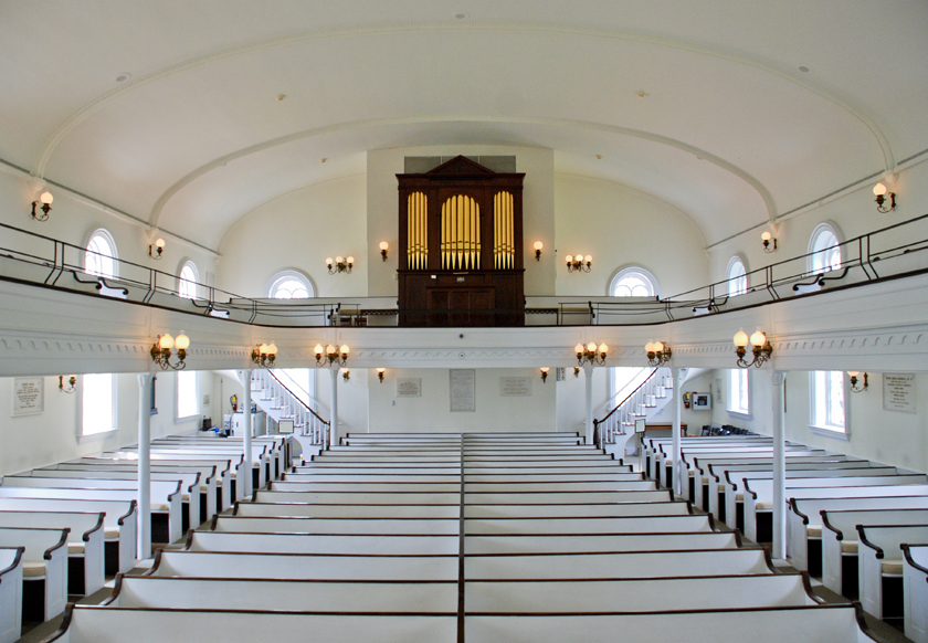 Lee Chapel Interior, Lexington, VA