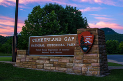 Cumberland Gap NHP Sign