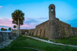 Dawn at Castillo de San Marcos
