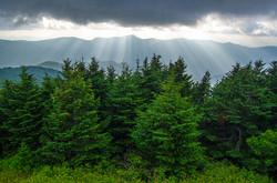 Light & The Blueridge Mountains