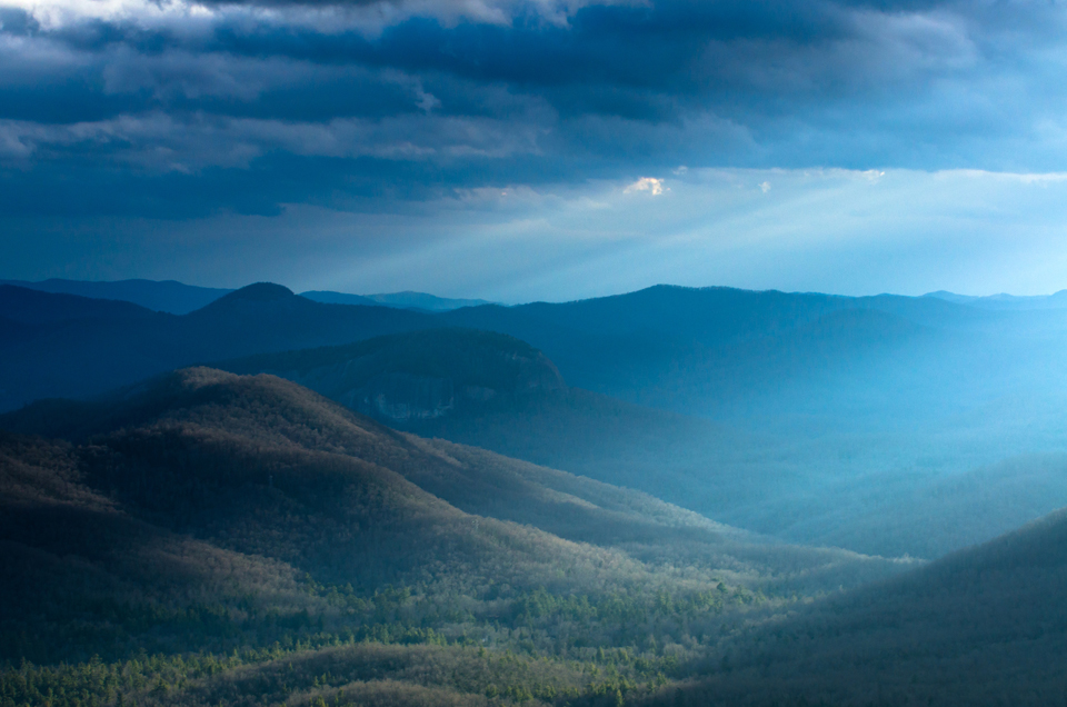 Magic Light Over the Blue Ridge Mtns