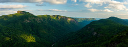 Wiseman's View Sunset - Pisgah National Forest - NC