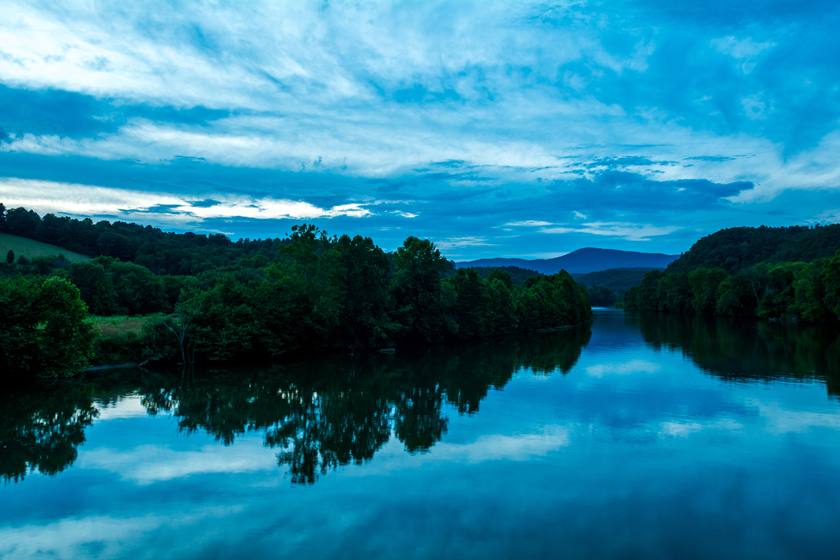 Blue Hour on the James River