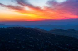 Majestic Blue Ridge Mountains