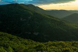 Light Along the Ridges