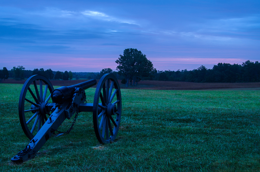 Blue Hour Along Manassas National Battle
