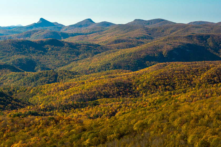 Autumn Views from the Parkway