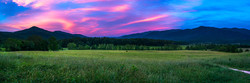 Pink Skies Over Cades Cove