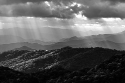 Light Over Maggie Valley