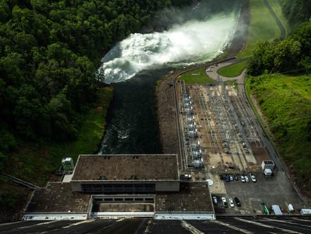 Fontana Dam 2018 Spillway Release
