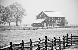 Winter in Gettysburg