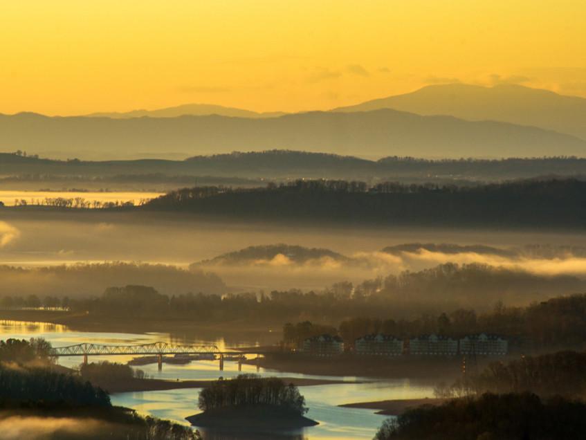 Golden Hour in the TN Valley