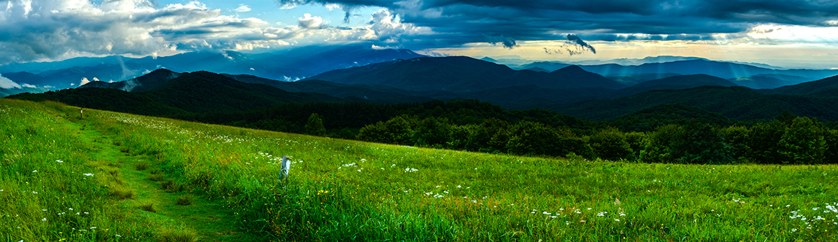 Storm Clouds Over the Appalachian Trail.