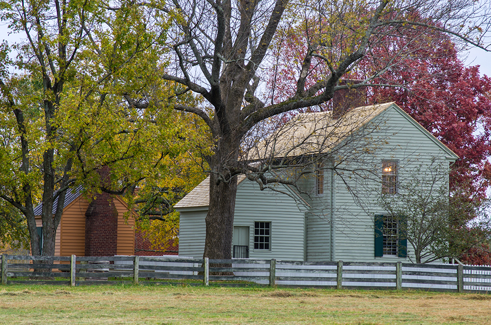Autumn at Appomattox Court House