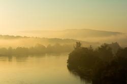 Morning Glow from Goshen Valley Bridge