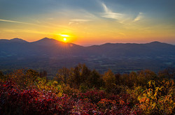 Sunrise Over Sharptop