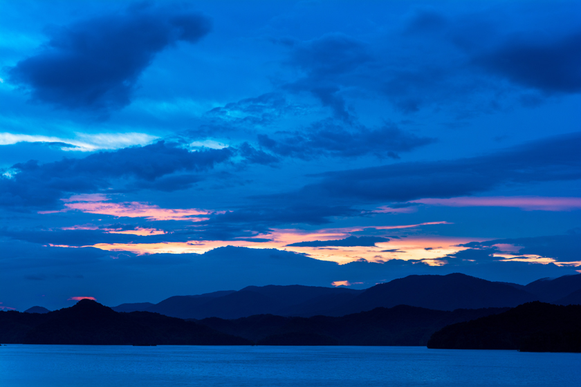 Blue Hour Along South Holston Lake