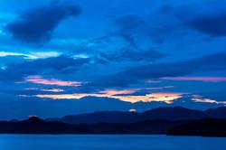 Blue Hour Along South Holston Lake