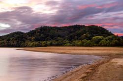Pink Skies at Cherokee Lake