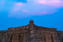 Dusk at Castillo de San Marcos