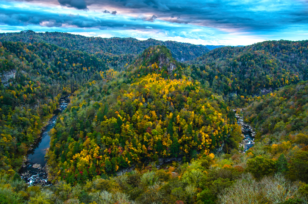 Autumn at Breaks Interstate Park