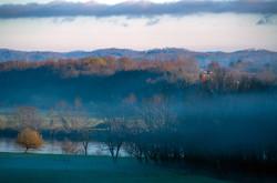 Winter Morning in Church Hill