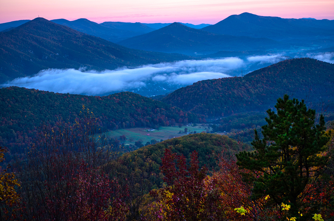 Autumn & The Blueridge Mountains
