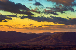 Colorful Blueridge Sunrise