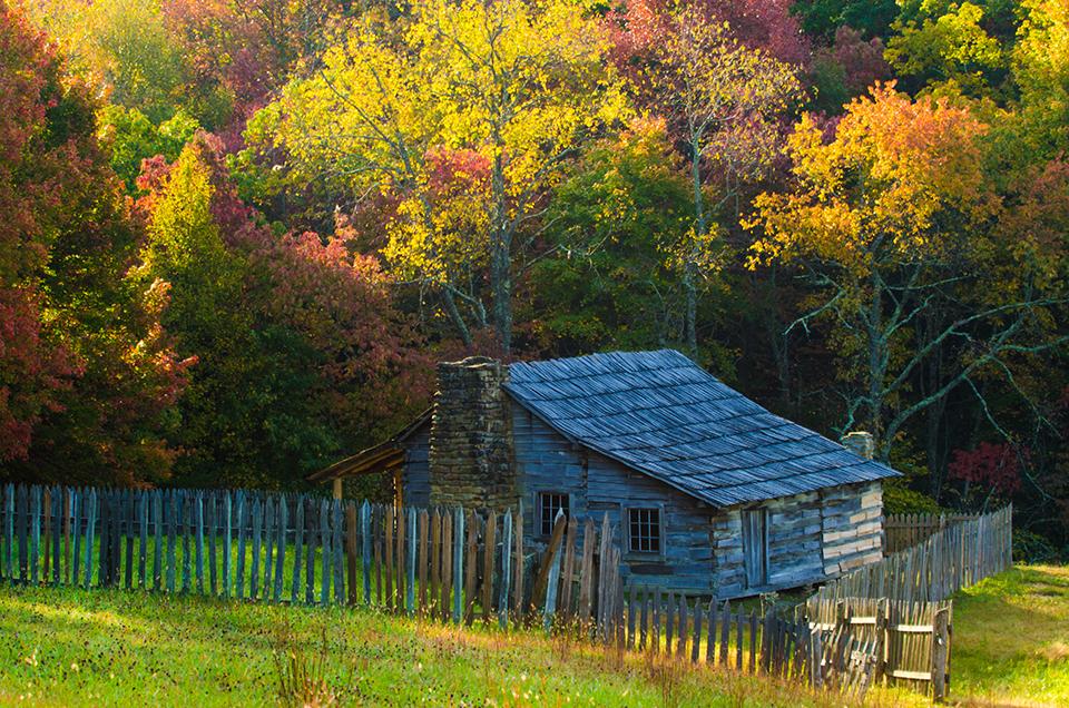 Autumn at Lige Gibbons Cabon