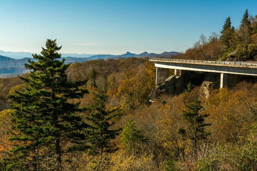 Linville Viaduct Along the BRP
