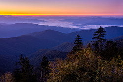 Dawn in the Smoky's