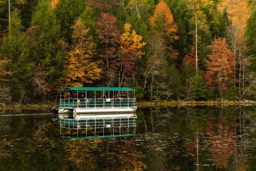 Autumn Barge Ride