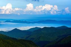 Beauty Along the Blueridge Mountains