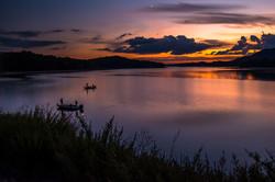 Sunset Over Cherokee Lake