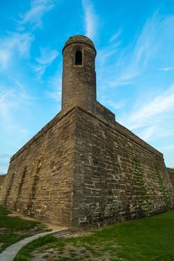 Tower View at Castillo de San Marcos