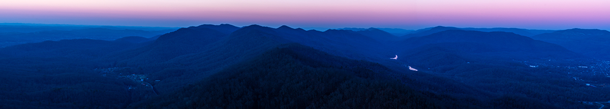 Blue Hour from the Pinnacle