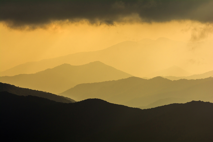 Golden Hour from Clingman's Dome