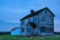 Blue Hour at the Henry House
