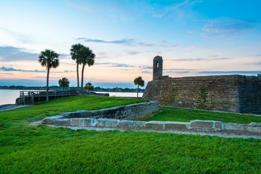 Castillo de San Marcos Morning View