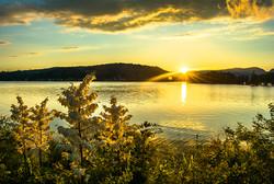 Sunset at Cherokee Lake