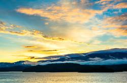 Sunrise at South Holston Lake