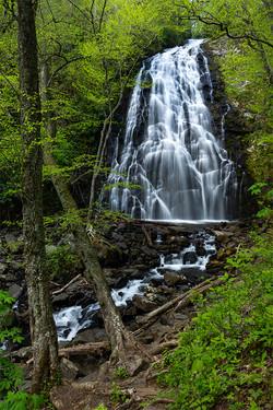 Crabtree Falls - Blue Ridge Parkway - NC - Virtical