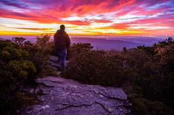 Sunrise from Hawksbill