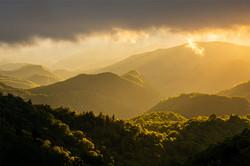 Sunset at Woolyback - Blue Ridge Parkway, NC