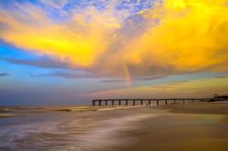 Sunset at St. Augustine Beach