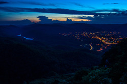 Nightfall Over Middlesboro