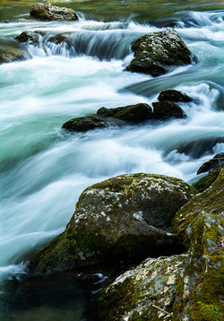 Rushing Down Little River