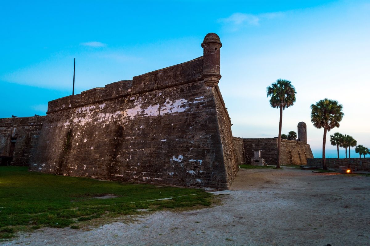 Early Morning at Castillo de San Marcos